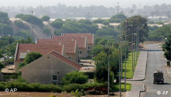 Israelische Siedlung in Gaza