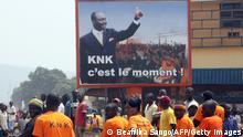 Zentralafrikanische Republik Plakat François Bozizé