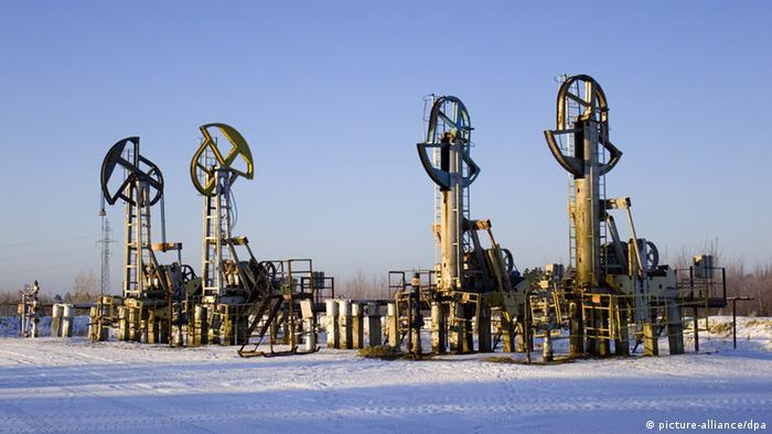 Sibiren Öl Förderanlage (picture-alliance/dpa)