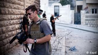 Джеймс Фоли в сентябре 2012 года в Сирии