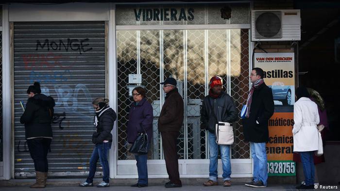 Spanien Arbeitslosigkeit