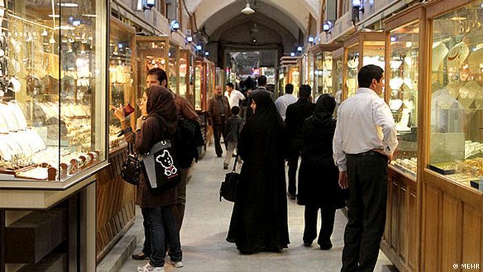 بازار طلا در تهران