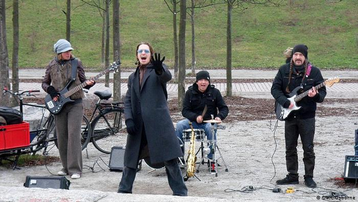 Rupert's Kitchen Orchestra in Berlin's Mauerpark
