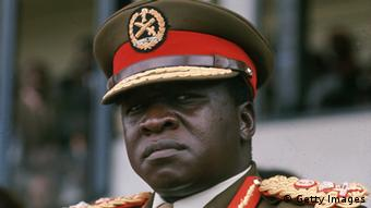 Ugandan dictator Idi Amin. (Photo by Keystone/Getty Images)