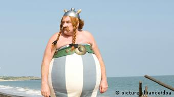 Gérard Depardieu in the film Asterix & Obelix