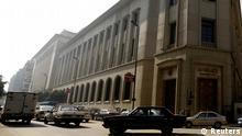 Das Gebäude der Zentralbank in Ägypten