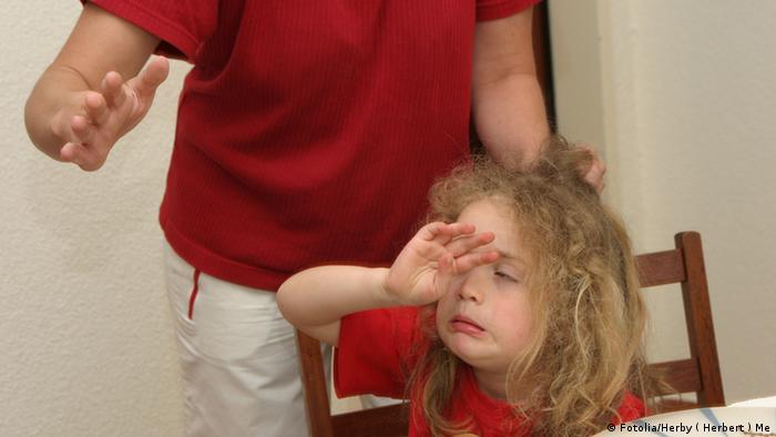 Themenbild Gewalt in der Erziehung (Foto: Fotolia/Herby ( Herbert ) Me)