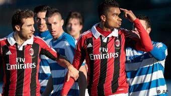 Freundschaftspiel AC Mailand gegen Pro Patria Reaktion Boateng rassistische Äußerungen (AP)