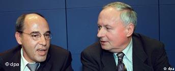 Gregor Gysi und Oskar Lafontaine