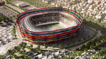 Model stadiona za Dohu