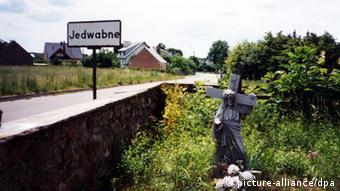 The town of Jedwabne, north-eastern Poland