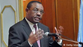 Ethiopian Prime Minster Hailemariam Desalegn (Photo: JENNY VAUGHAN/AFP/Getty Images)