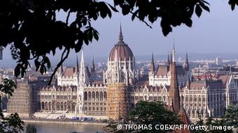 Ungarn Parlament in Budapest