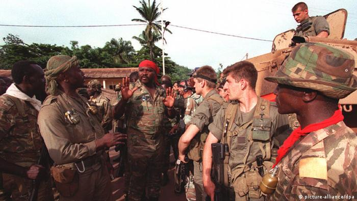 Central African rebel soldiers (Photo: COLORplus)