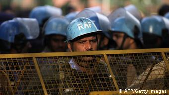 Symbolbild Polizeistreife in Neu Delhi (AFP/Getty Images)