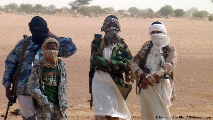 Ansar Dine Kämpfer in Mali Foto: ROMARIC OLLO HIEN/AFP/GettyImages
