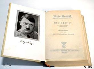 Original copy of Adolf Hitler's book Mein Kampf