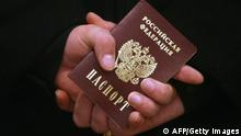 Russischer Pass Personalausweis Russland