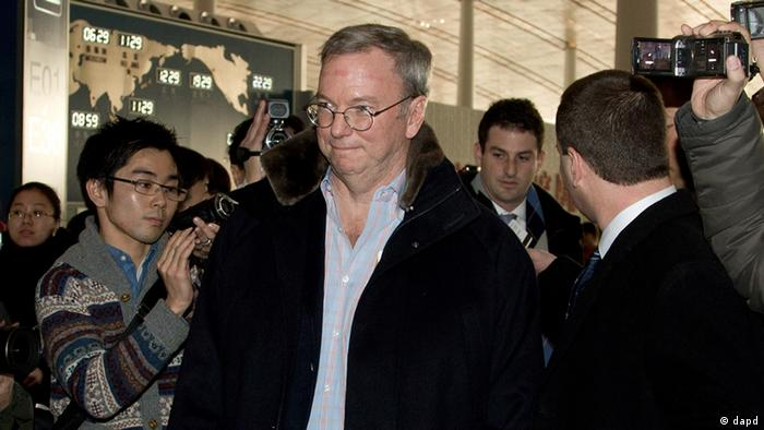 Google's executive chairman Eric Schmidt (Photo:Andy Wong/AP/dapd)