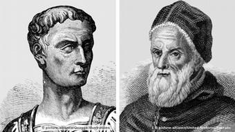 Юлий Цезарь и папа римский Григорий XIII