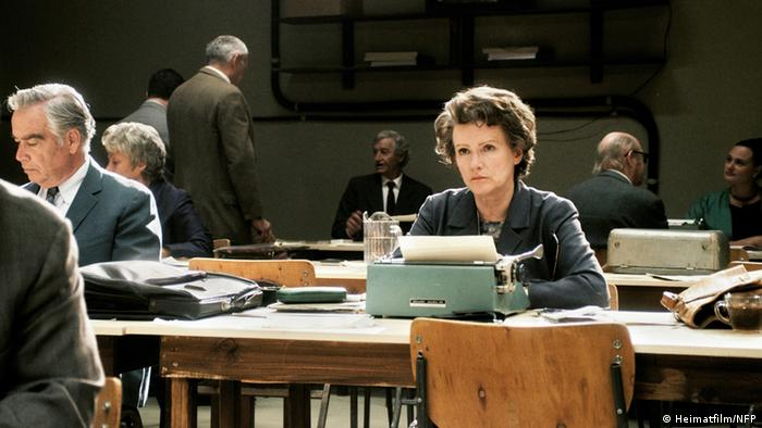 A scene from the film Hannah Arendt by Margarethe von Trotta