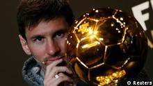 Wahl Weltfußballer des Jahres Lionel Messi