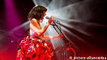 Kimbra Auftritt beim Spin Off Festival in Adelaide