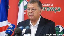 Carlos Veiga, Parteiführer des MpD (Movimento para a Democracia), Kapverden. Copyright: DW/Nélio dos Santos Praia, Santiago, Kapverden, 04.01.2013