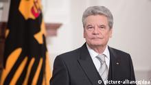Gauck Neujahrsempfang 2013