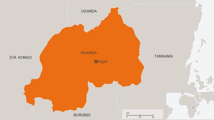 Leben als blinde in kigali