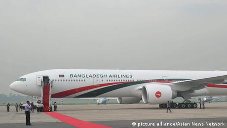 Biman Bangladesh Airlines ARCHIVBILD (picture alliance/Asian News Network)
