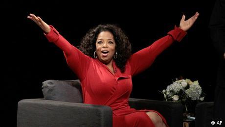 Oprah Winfrey USA Talkshow Archivbild 26.11.2012
