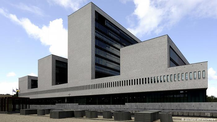 Europol Europäische Polizeibehörde in Den Haag (Foto: EPA)