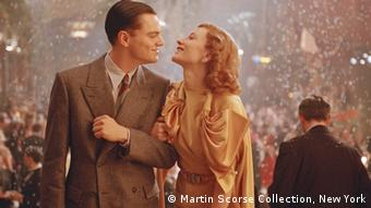 Leonardo Dicaprio and Cate Blanchett in Scorsese's The Aviator