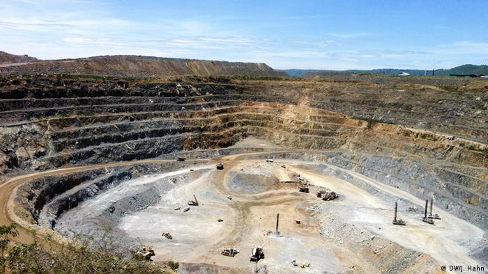 North Mara Gold Mine in Tansania Foto: Julia Hahn