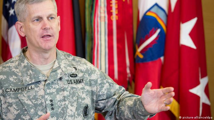 Lt. Gen. Donald M. Campbell Jr Photo: Boris Roessler dpa