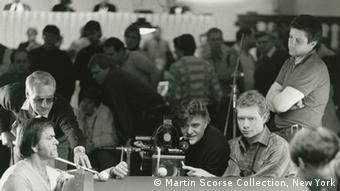 Michael Ballhaus (center) on the set of The Color of Money in 1986