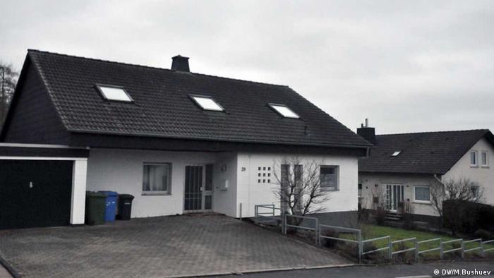 Дом, в котором жили подозреваемые в шпионаже в пользу России, Михельбах, Марбург