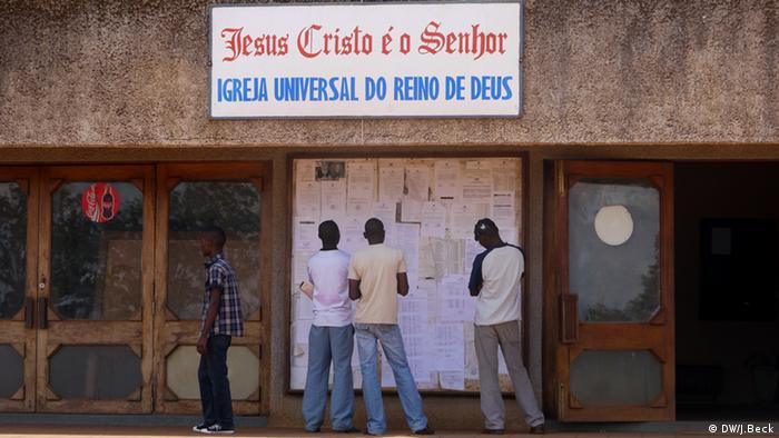 IURD Igreja Universal do Reino de Deus in Mosambik