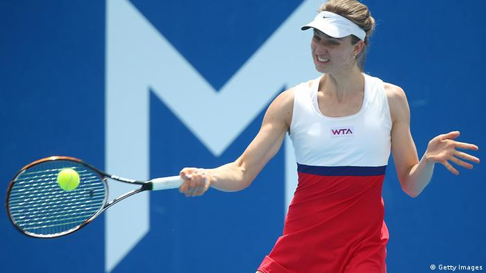 Mona Barthel beim Turnier in Hobart (Foto: Mark Metcalfe/Getty Images)