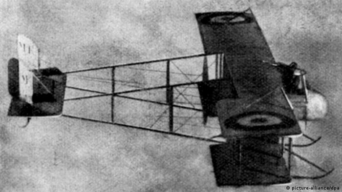 Französischer Kampfdoppeldecker im Ersten Weltkrieg