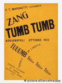 Filippo Tommaso Marinetti Futurismus Buchcover