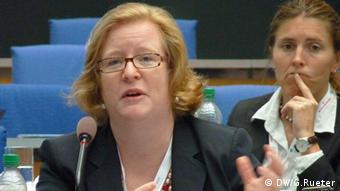 Generalsekretärin Christine Lins von REN21(Foto: DW/G.Rueter)