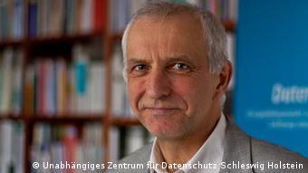 Dr. Thilo Weichert, Landesbeauftrager für Datenschutz des LandesAn image of Thilo Weichert is Data Protection Commissioner for Schleswig-Holstein,