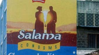 Reklame für Kondome in Tansania