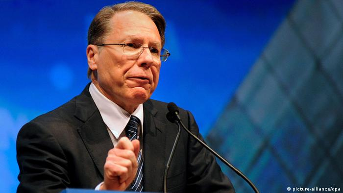 NRA leader Wayne LaPierre (picture-alliance/dpa)