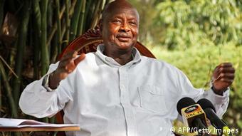 Uganda's President Yoweri Museveni (Photo ISAAC KASAMANI/AFP/GettyImages)