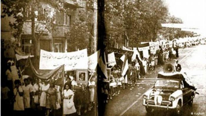 ایران در دهه ۱۳۳۰ شاهد فعالیتهای گسترده و پرشور زنان برای کسب حق رای و شرکت در انتخابات بود. روحانیت و در رأس آن روح الله خمینی از زنان خواسته بود که در انتخابات شرکت نکنند.
