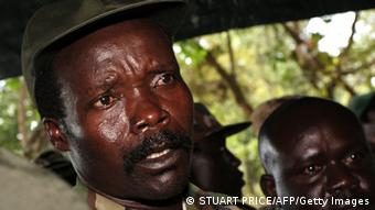 LRA-Chef Joseph Kony Foto: STUART PRICE/AFP/Getty Images