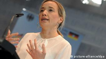 Germany's Federal Minister of Family Affairs, Kristina Schröder (Photo: dpa)
